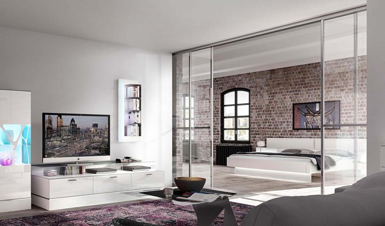 leonardo living schlafen raumteiler kollektion. Black Bedroom Furniture Sets. Home Design Ideas
