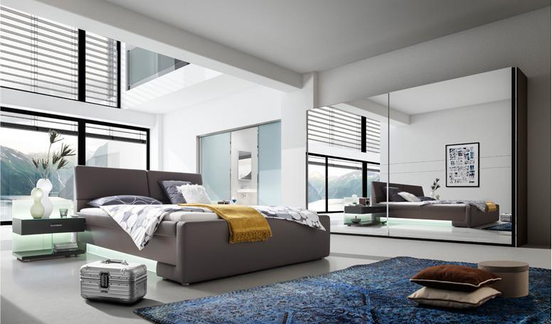 leonardo living - schlafen/ raumteiler - kollektion, Schlafzimmer ideen