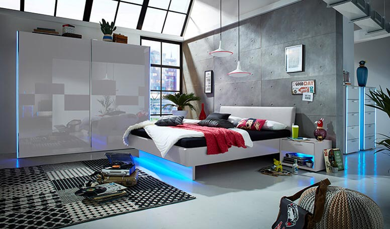 leonardo living junges schlafen kollektion. Black Bedroom Furniture Sets. Home Design Ideas